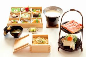 旬彩料理9品 かたくり御膳 1,800円