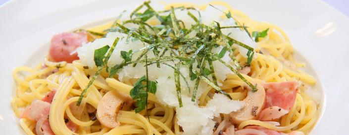 梅肉と大根おろしのスパゲティー