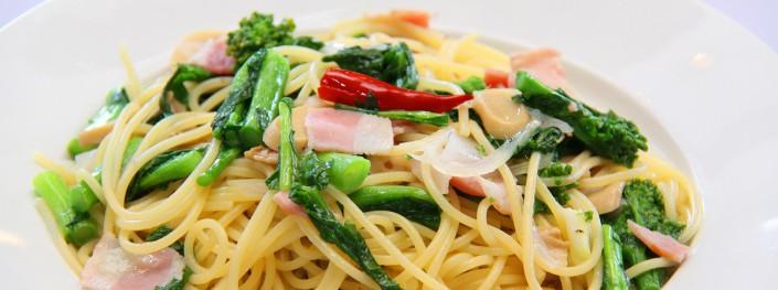 菜の花のスパゲティー